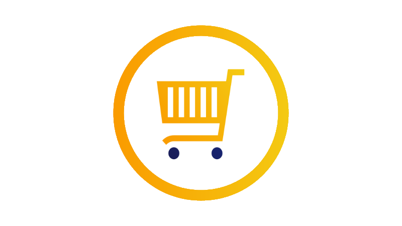 Icon depicting shopping cart